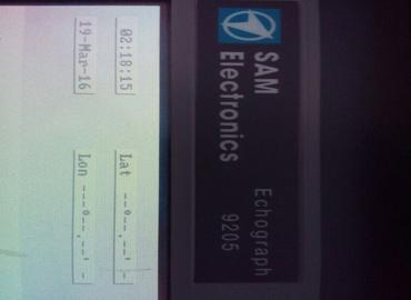 STN ATLAS 9205 ECHO SOUNDER